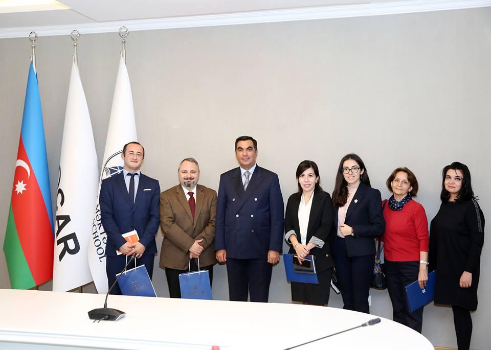 Bhos Representative Of Usa Embassy Visits Baku Higher Oil School