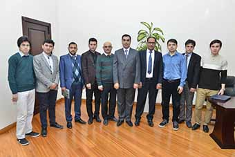 Əfqanıstan universitetinin nümayəndələri BANM-də