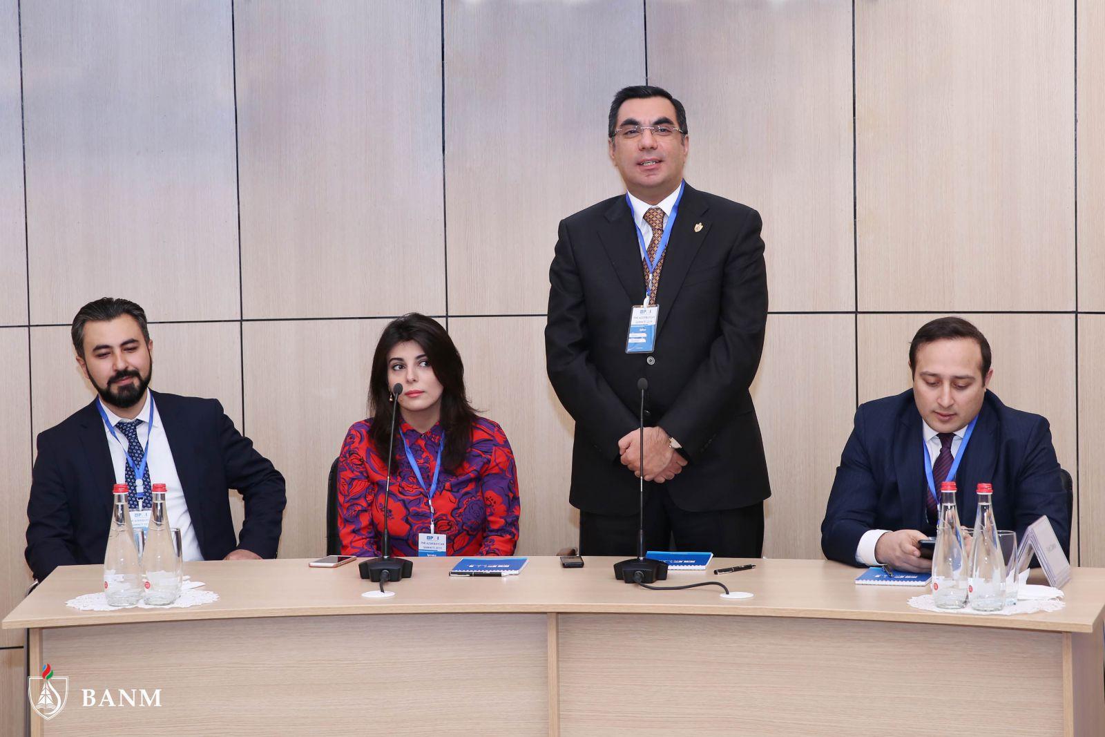 Bhos Pmi Azerbaijan Summit 2019 Was Held At Baku Higher Oil School