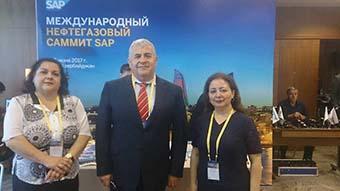 BHOS - BHOS teachers at international oil & gas summit SAP
